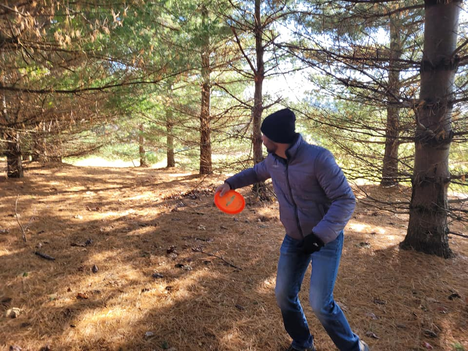 Disc golf in Noble County