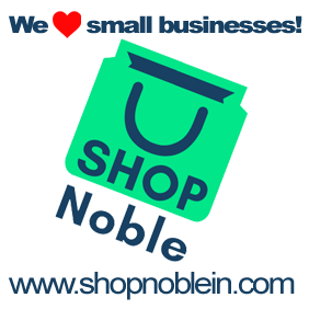 Shop local at SHOPNoble!